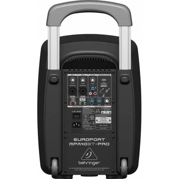 Behringer MPA40BT-PRO Portable 40W PA System with Bluetooth