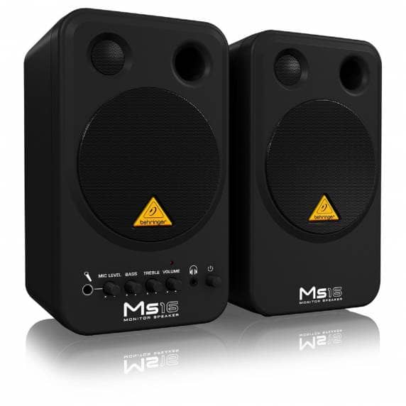 Behringer MS16 Studio Monitors PAIR