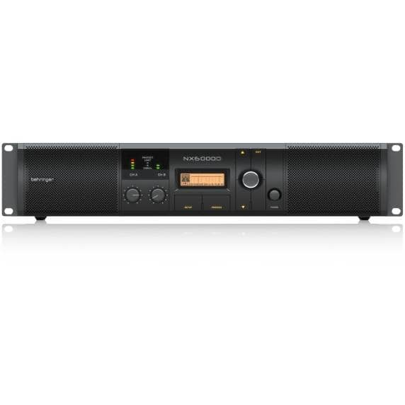 Behringer NX6000D 6000W Class-D Power Amplifier