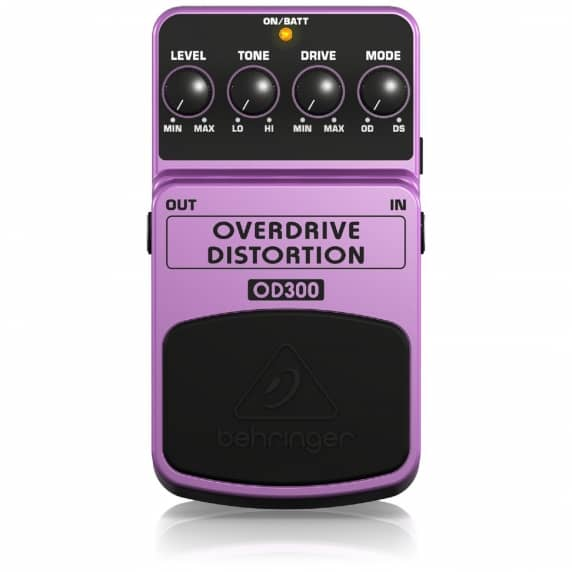 Behringer OD300 2-Mode Overdrive/Distortion Guitar Pedal - B Stock