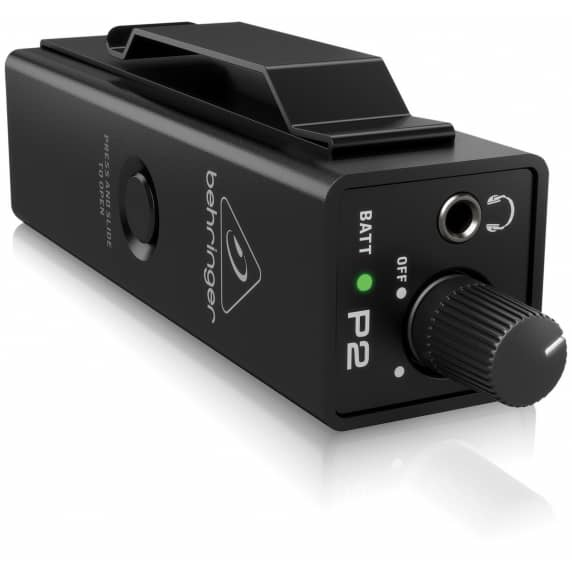 Behringer Powerplay P2 – Personal In-Ear Monitor Amplifier