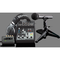 Behringer Professional USB Podcast Studio Recording Bundle