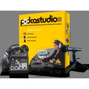 Behringer Professional USB Podcast Studio Recording Bundle