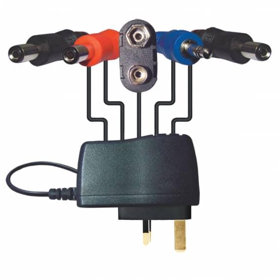 Behringer PSU-HSB-ALL Multi Foot Pedal Power Supply