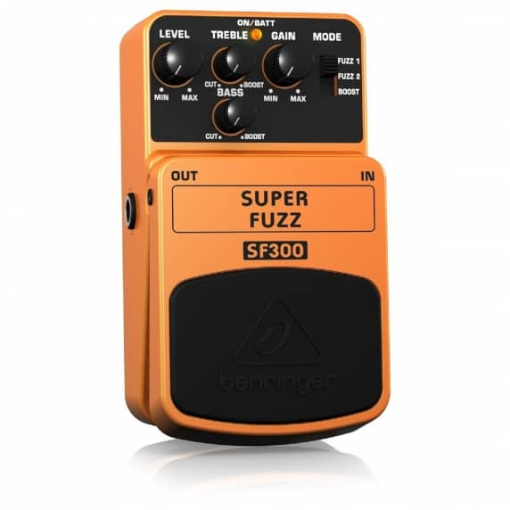 Behringer SF300 Super Fuzz Guitar Pedal - B Stock (No Box)