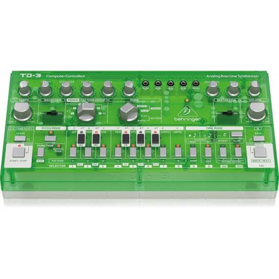 Behringer TD-3 Analog Bass Line Synthesizer - Green