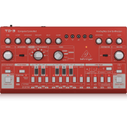 Behringer TD-3 Analog Bass Line Synthesizer - Red