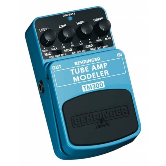 Behringer TM300 Tube Amp Modeller Guitar Pedal