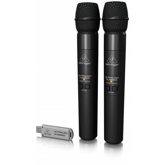 Behringer ULM202USB Dual Wireless Mic System