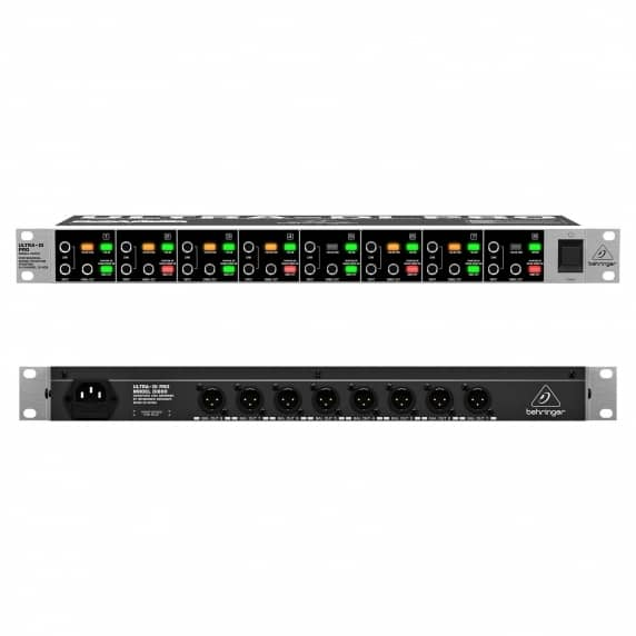 Behringer Ultra-DI Pro DI800 8-Channel DI-Box