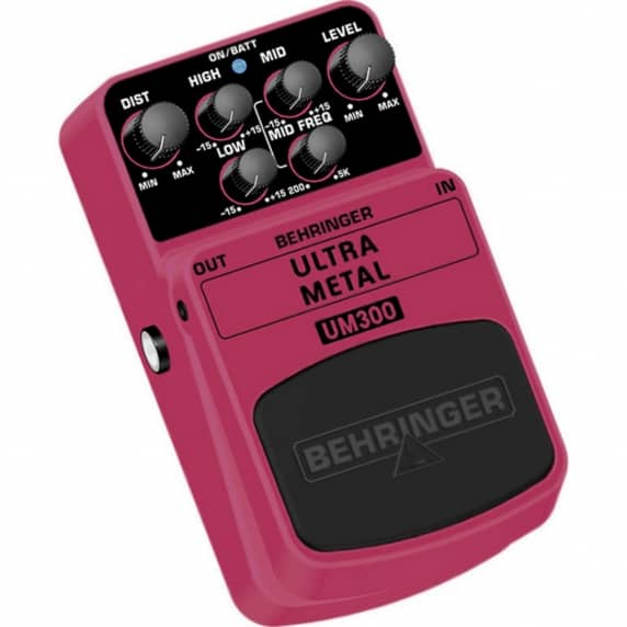 Behringer UM300 Ultra Metal Guitar Effects Pedal