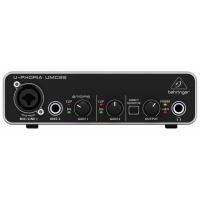 Behringer UMC22 U-PHORIA Audio Interface - B-STOCK