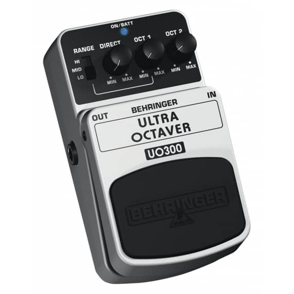 Behringer UO300 Ultra Octaver Guitar Effects Pedal - B STOCK