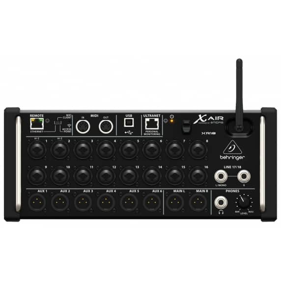 Behringer X Air XR18 18-Channel Digital Mixer - 12 Bus
