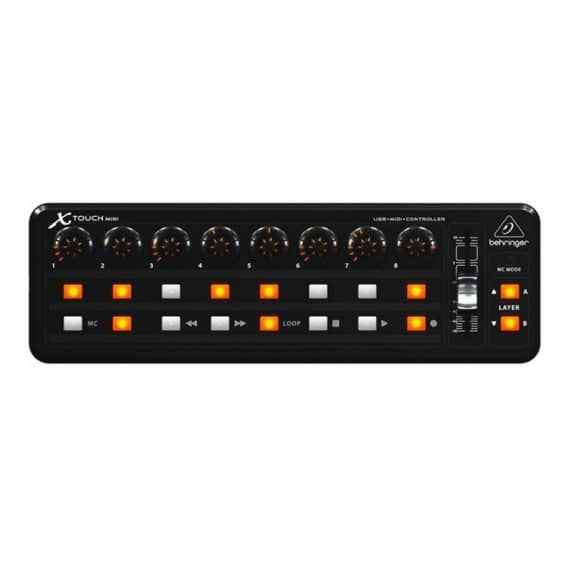 Behringer X-TOUCH MINI - Ultra-Compact Universal USB Controller