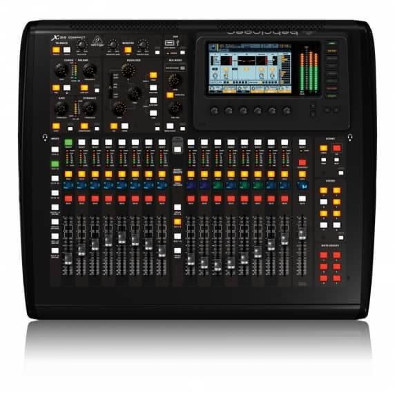 behringer x32 compact digital mixer behringer from inta audio uk. Black Bedroom Furniture Sets. Home Design Ideas