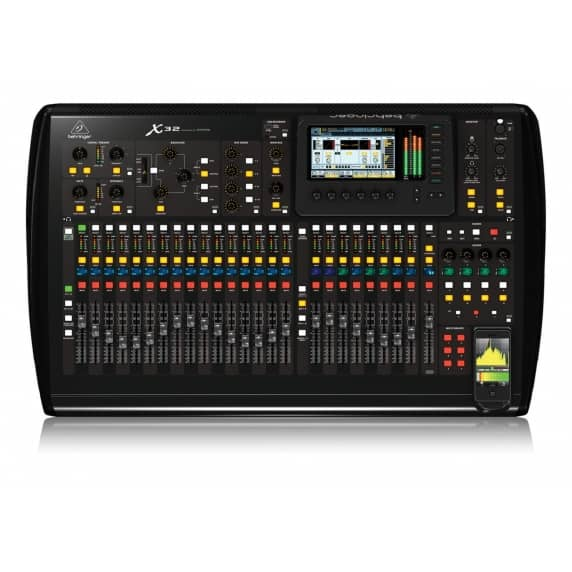 behringer x32 digital mixer behringer from inta audio uk. Black Bedroom Furniture Sets. Home Design Ideas
