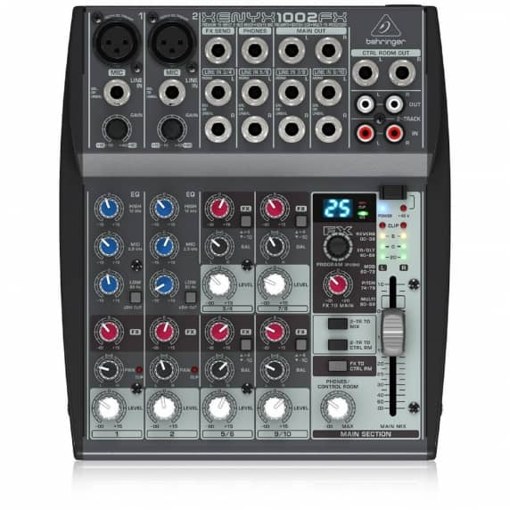 Behringer XENYX 1002FX Mixer & Multi-FX Processor (B-STOCK)
