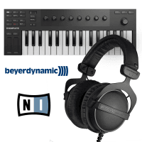 Beyerdynamic DT770 Pro LTD Black Edition & NI M32 MIDI Keyboard Bundle