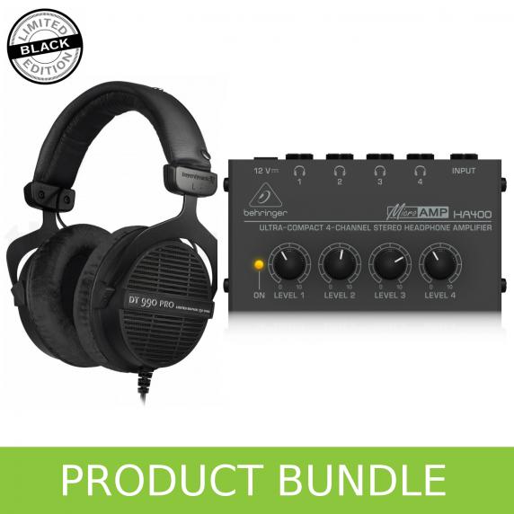 Beyerdynamic DT990 (Ltd Edition) & Behringer Headphone Amp Bundle