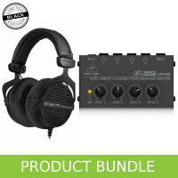 Beyerdynamic DT990 (Ltd Edition) & Behringer Headphone Amp Bundle