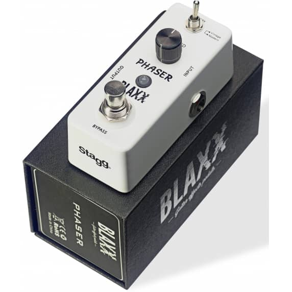 Blaxx 2-Mode Mini Phaser Effects Pedal