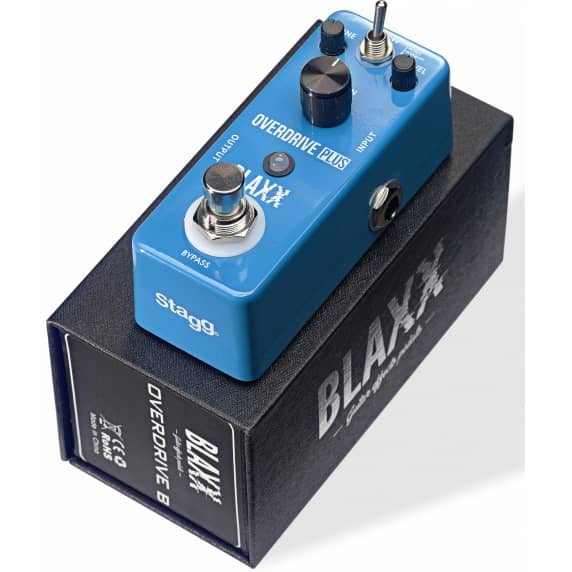 Blaxx 2-Mode Overdrive Effects Pedal