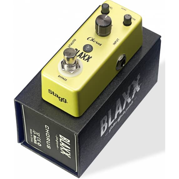 Blaxx Mini Chorus Effects Pedal