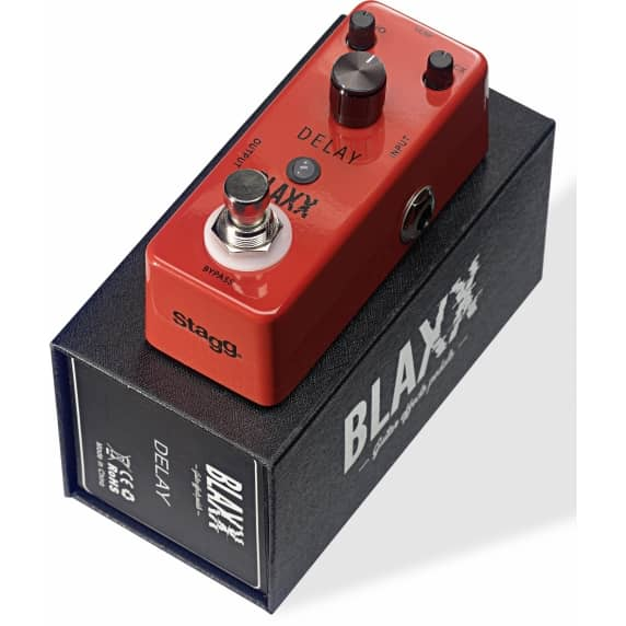 Blaxx Mini Delay Effects Pedal