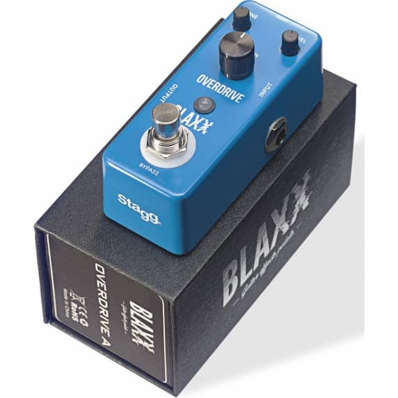 Blaxx Overdrive Effects Pedal