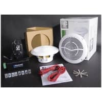 E-Audio Bluetooth Amplifier Ceiling Speaker Kit for Home/Shop's/Cafe's