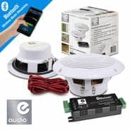 Bluetooth Amplifier Ceiling Speaker Kit for Home/Shop's/Cafe's
