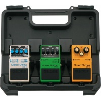 BOSS BCB-30 Compact Pedal Case for 3 Pedals