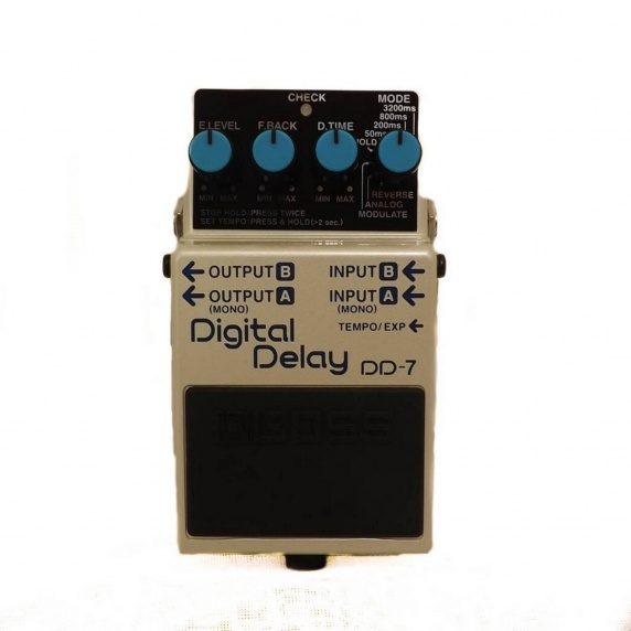 BOSS DD-7 Digital Delay Compact Guitar Effects Pedal - EX DEMO