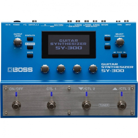 Boss Guitar Synthesizer Effects Processor - SY-300