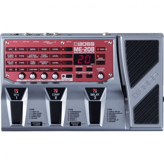 Boss Multiple Effects Pedal - ME-20B