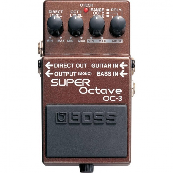 BOSS OC-3 Super Octave Electric Guitar Effects Pedal - B STOCK