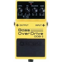 Boss ODB-3 Bass Overdrive Bass Guitar Effects Pedal