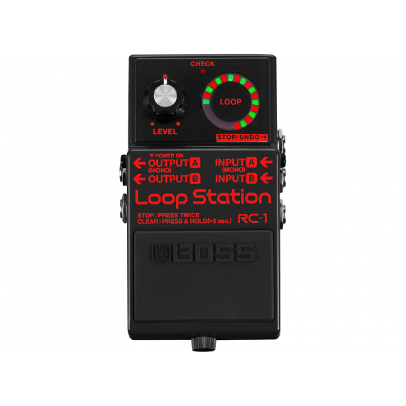 Boss RC-1 Loop Station Black Limited Edition