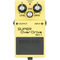 BOSS SD1 Super Overdrive Guitar Effect Pedal - B STOCK