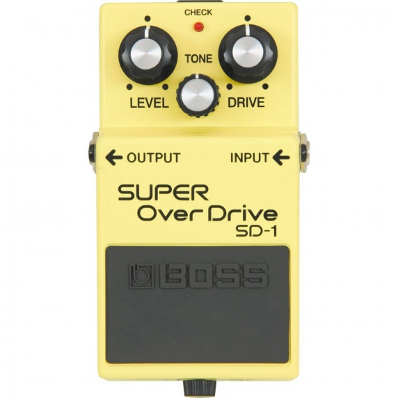 BOSS SD1 Super Overdrive Guitar Effect Pedal