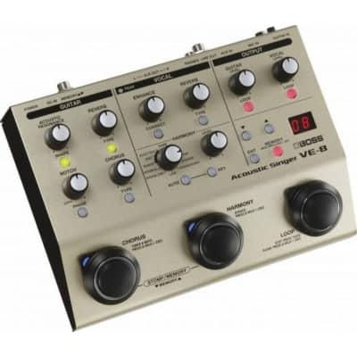 boss ve 8 acoustic singer pedal boss from inta audio uk. Black Bedroom Furniture Sets. Home Design Ideas