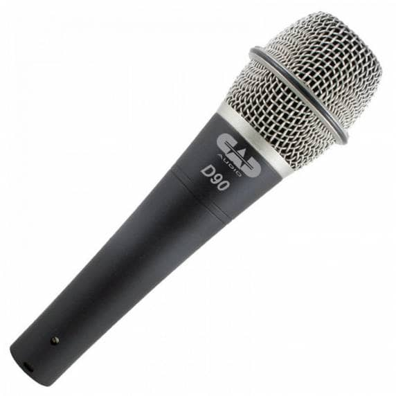 CAD Microphones D90 Handheld Microphone, Carry Case + Mic Clip