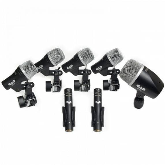 CAD Microphones Essential Drum Recording Pack