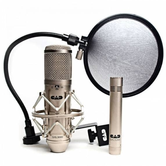 CAD Microphones GXL Studio Kit (Satin)