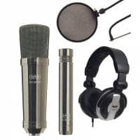 CAD Microphones GXL2200 Studio Kit (Black Pearl)