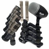 CAD Microphones Premium Drum Recording Pack