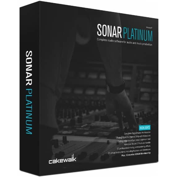 Cakewalk SONAR Platinum UPGRADE from Artist (Serial Download)