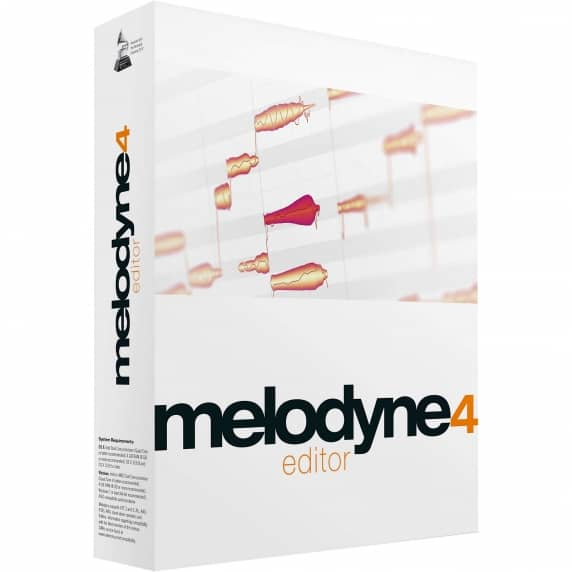 Celemony Melodyne 4 Editor Upgrade from Melodyne Uno Or Plugin (Serial Download)