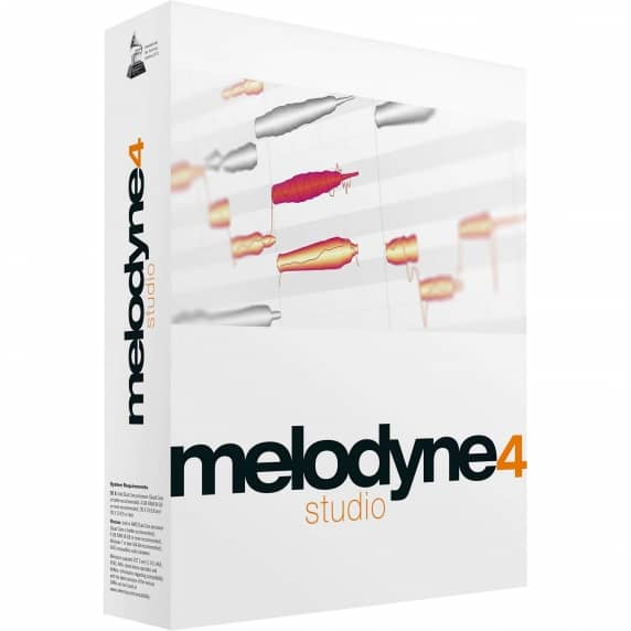 Celemony Melodyne 4 Studio Upgrade from Essential (Serial Download)